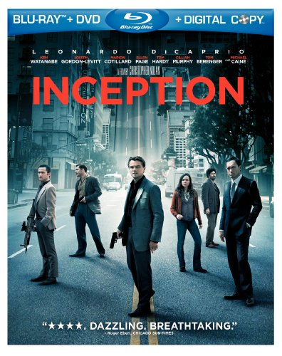 Inception (Two-Disc Blu-ray/DVD Combo + Digital Copy)-Warner Home Video