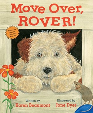 Move Over, Rover! by Karen Beaumont | Featured Book of the Day | wearewordnerds.com