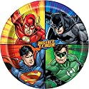Justice League Dinner Plates, 8ct