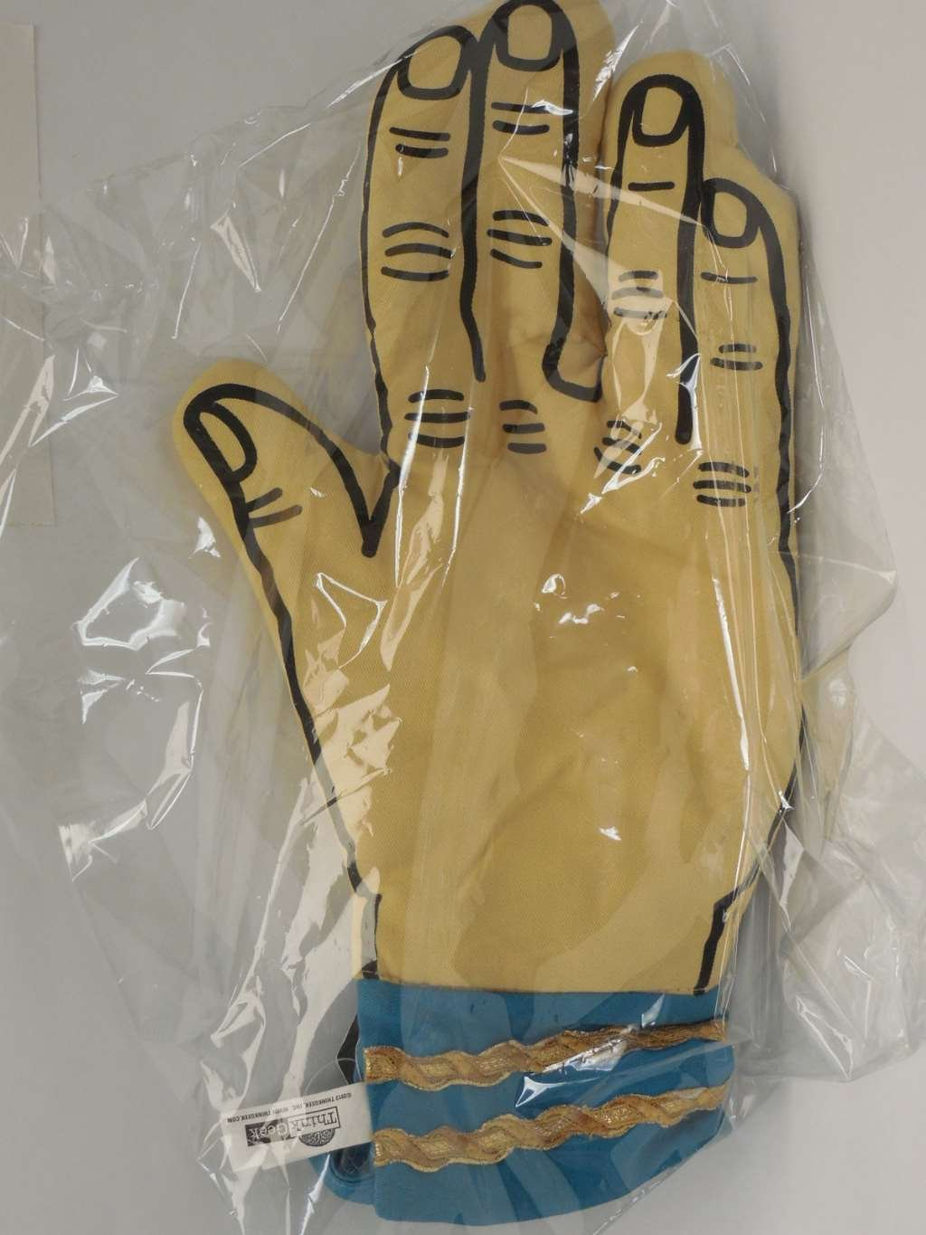 Star Trek Spock Oven Mitt - Live Long And Don't Burn Your Hands