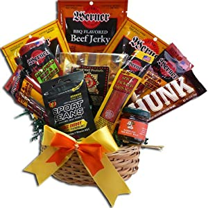 Manly Man's Snack Attack Gift Basket