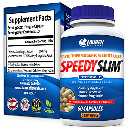 Revolutionary 30 Day Fast Weight Loss Veggie Pill Supplement - Made in USA - Premium Natural Ingredients That Safely Increase Your Metabolism & Energy - Ironclad No Risk Full Money Back Guarantee