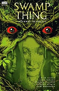 """Cover of """"Swamp Thing: Infernal Triangles..."""