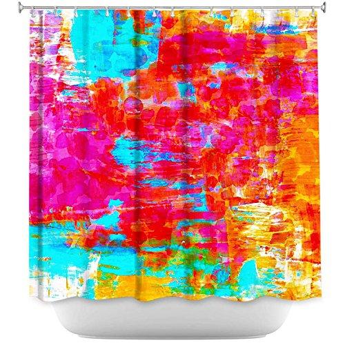 Shower Curtain Artistic Designer From DiaNoche Designs Stylish, Decorative,  Unique, Cool, Fun