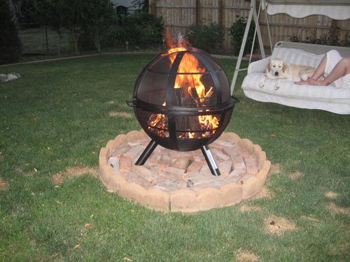 28925 Ball Landmann Usa Outdoor Fireplace Fire