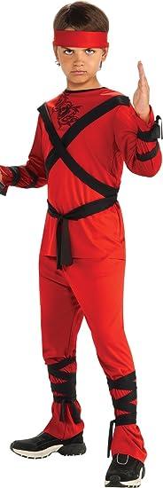 Rubies Red Ninja Child's Costume, Small