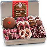 Golden State Fruit Valentines Day Premium Handmade Chocolate Collection In Gift Tin, 1.5 Pound (Pack of 1)