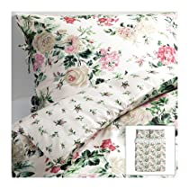 best price ikea emmie blom duvet cover and pillow cases multicolor decorative pillow sale