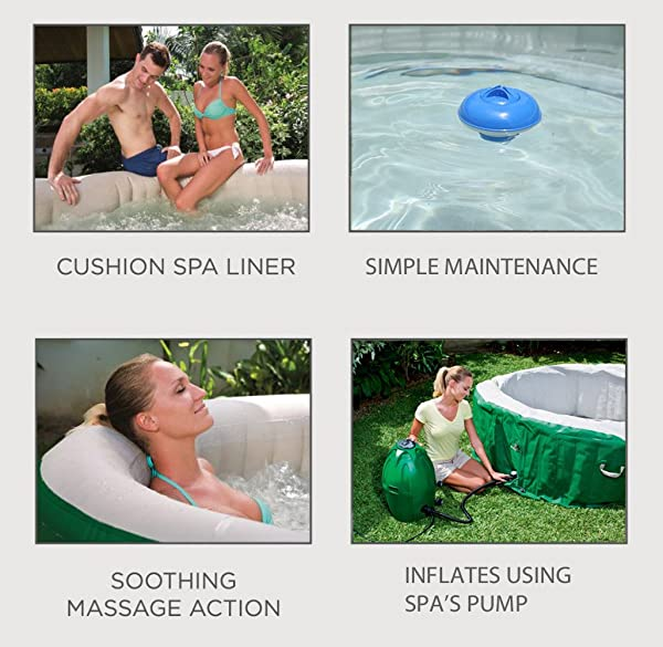 Coleman Lay-Z Spa Inflatable Hot Tub features
