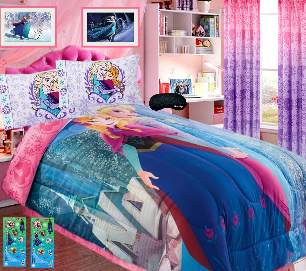 Disney Frozen Queen Bedding. This Beautiful Disney Frozen Bed Set ...