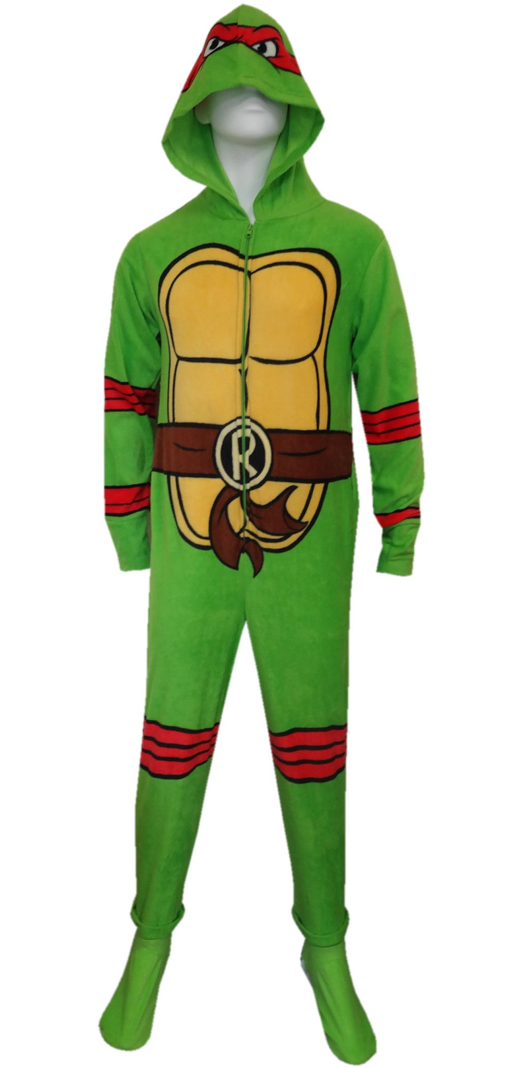 Teenage Mutant Ninja Turtle Raphael Fleece Onesie Pajama for men
