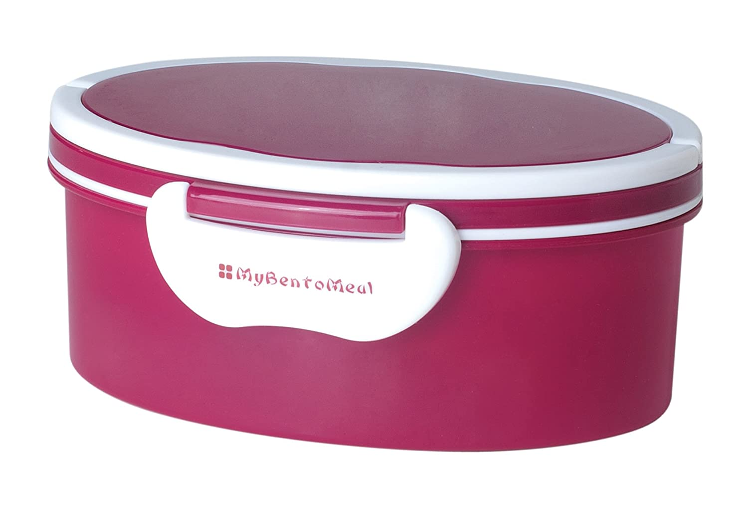 Mulberry Oval Bento Box with Handle