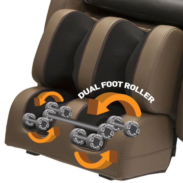kahuna massage chair footrest