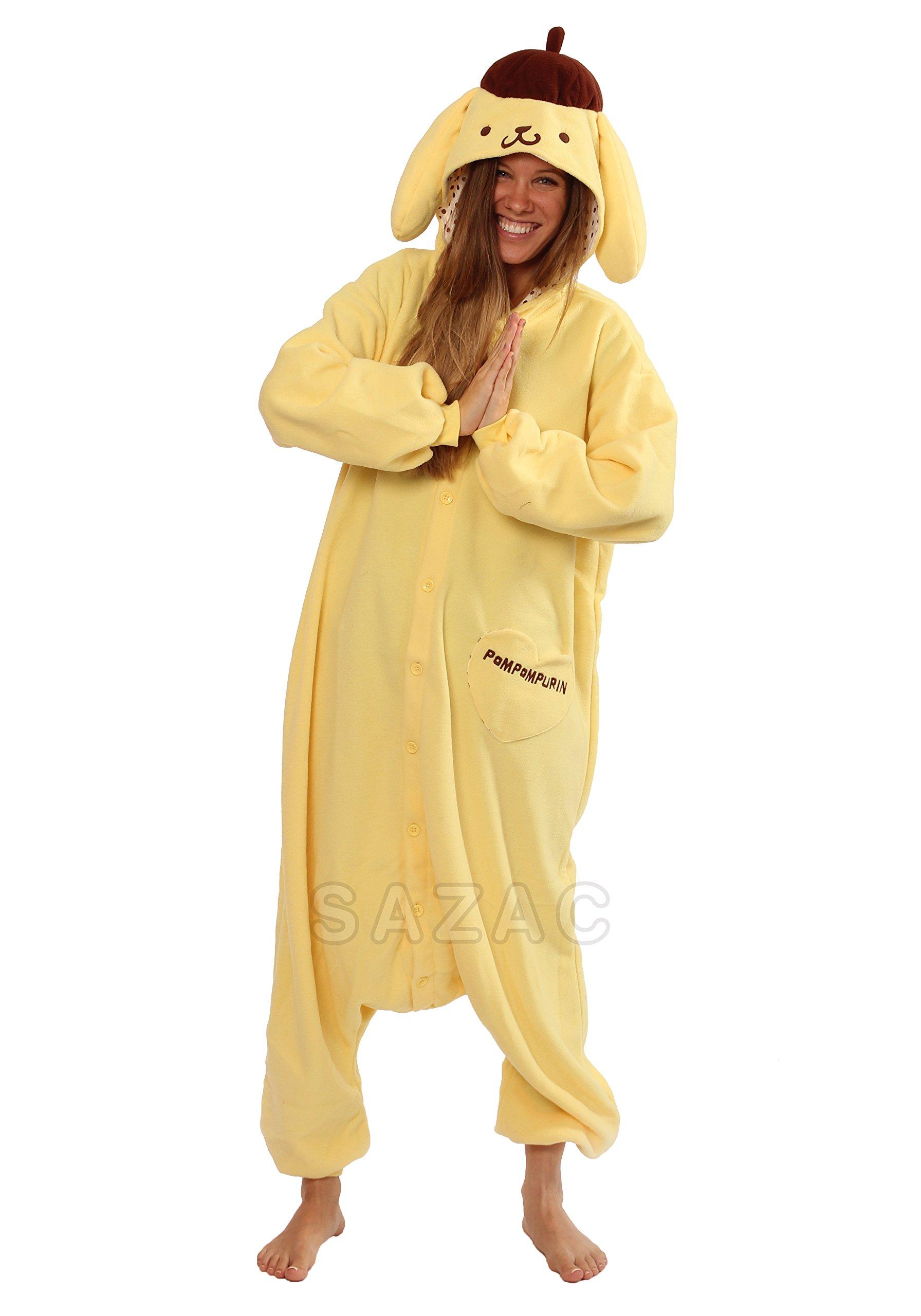 Sazac Pom Pom Purin Kigurumi - Adult Costume