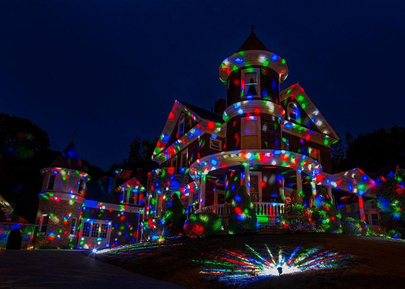 Laser Light Show Projector Kaleidoscope Disco Lights
