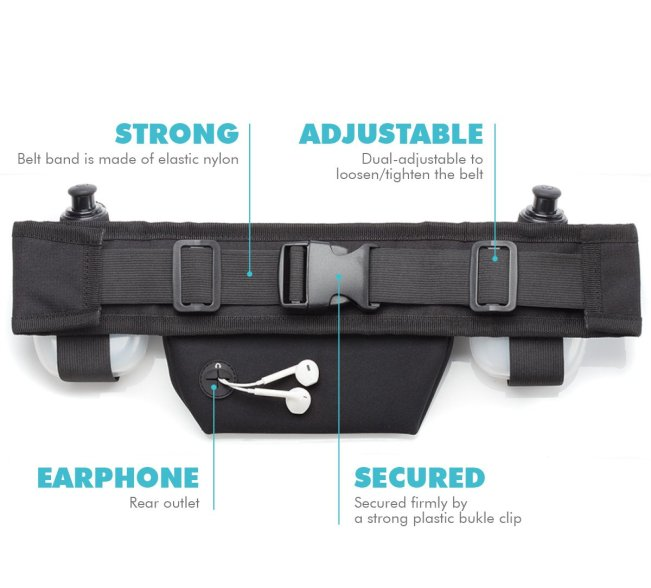 Hydration belts and Phone
