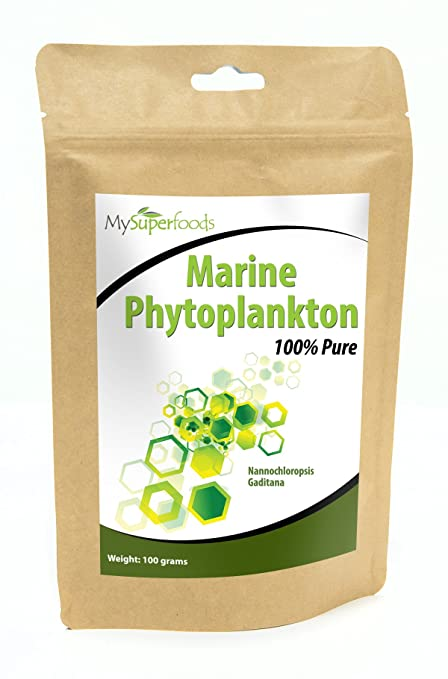 Marine Phytoplankton (100g) | Highest Quality Available | Most Powerful Superfood on the Planet | By MySuperfoods