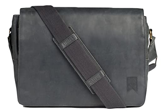 Navali Mainstay, Leather Laptop Messenger Bag 2016