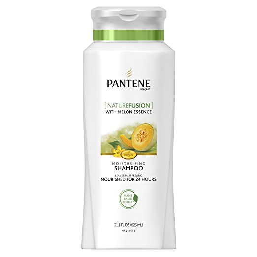 Pantene Pro-V Nature Fusion Moisturizing Shampoo With Melon Essence - Powered By Cassia, 21.1 Fl Oz, 21.100-Fluid Ounce