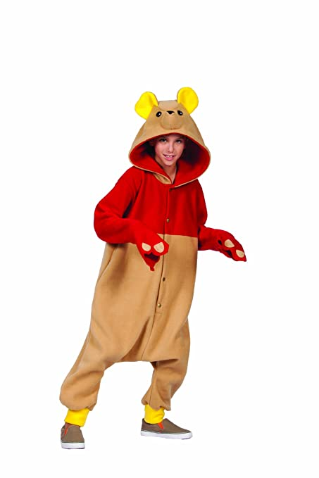 RG Costumes 'Funsies' Honey Bear Costume, Tan/Red, Small