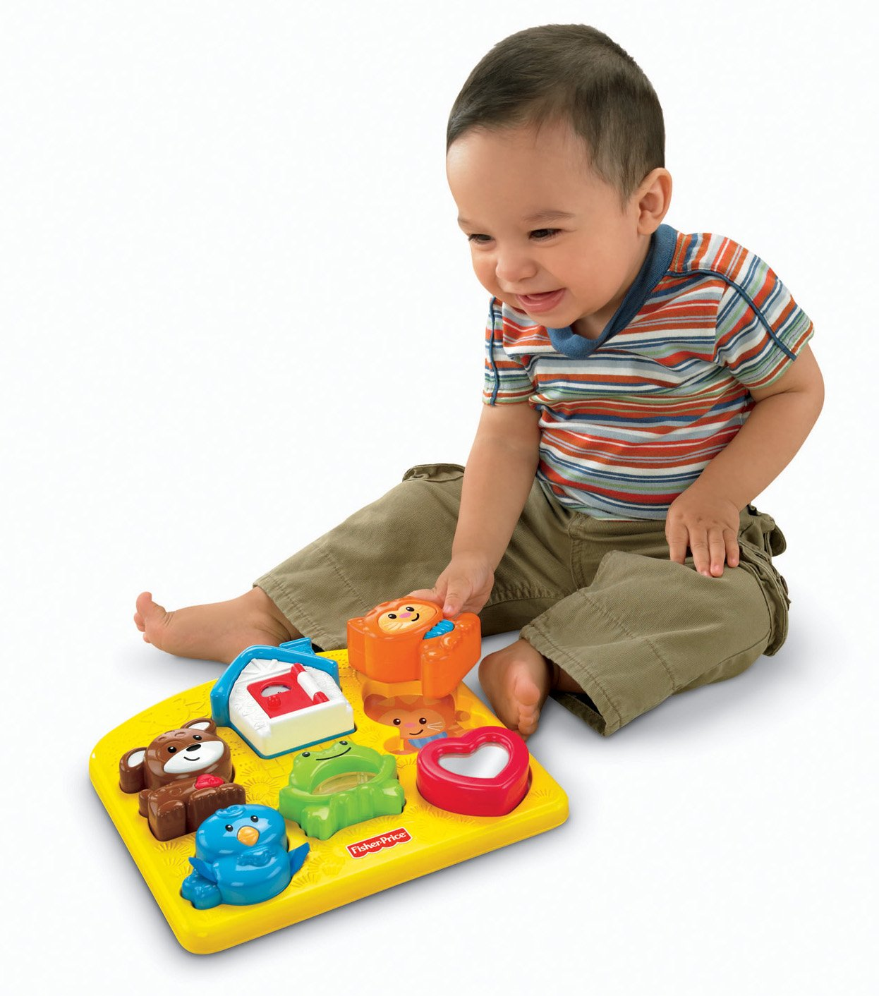 Activity Puzzle Fisher Price Brilliant Basics New Toy For Kids Baby Toddler