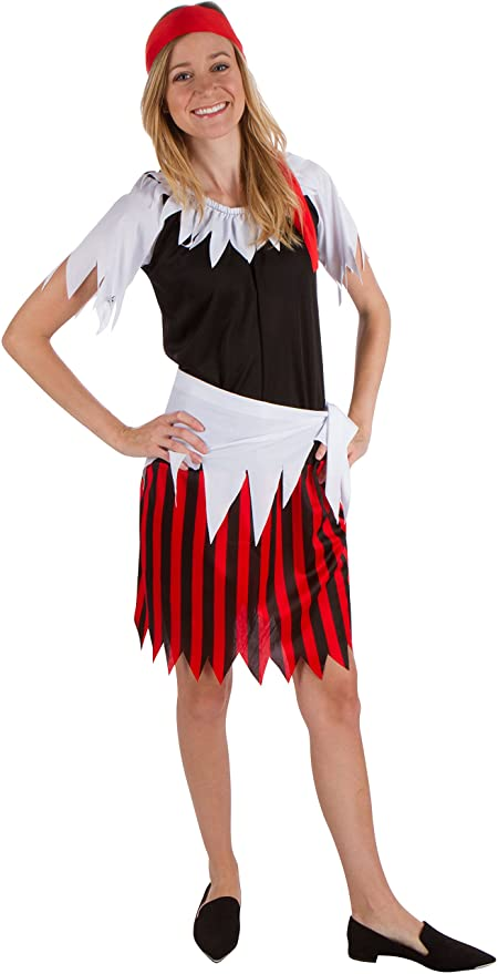 Adult Women's Pirate Wench Costume by Capital Costumes