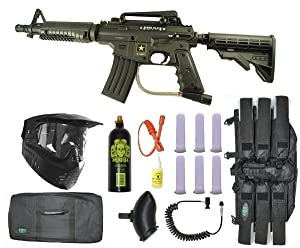 US Army Alpha Black Tactical Paintball Marker Gun Reviews