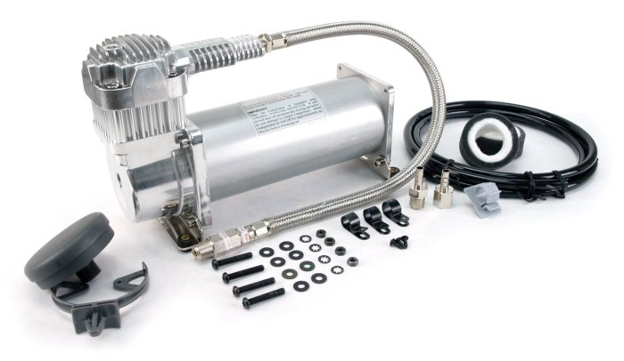 Amazon.com: Viair 450C Air Compressor Our onboard air compressor that can run without the engine on – we use it to top up our airbags for leveling.