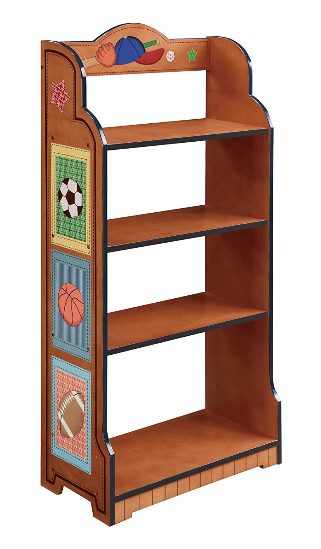 Teamson Kids Little Sports Fan Bookcase