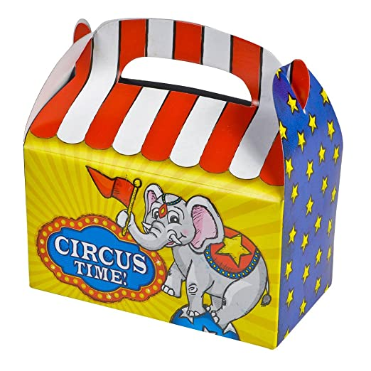 Circus Party Treat Boxes (pack of 12)