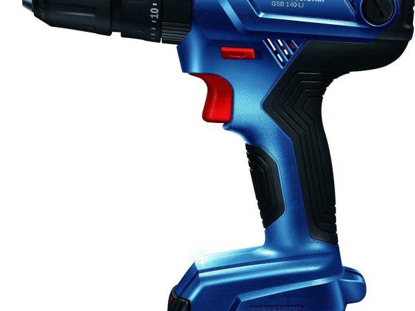 Bosch GSB 140-LI 14.4V Cordless Screwdriver (Blue)