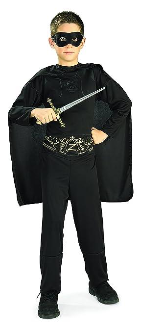 Rubie's Costume Zorro Child Costume, Large