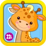Preschool Puzzles Games with Animated Animals, Vehicles, Ice Creams, Xylophone and Flowers: Fun Learning Activity Adventure for Girls and Boys - Learning Toy for Kids Explorers (Baby, Toddler and Preschool) - by Abby Monkey® 1 educational edition