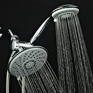HotelSpa Ultra-Luxury 30-setting 3-way Rainfall/Handheld Shower Combo