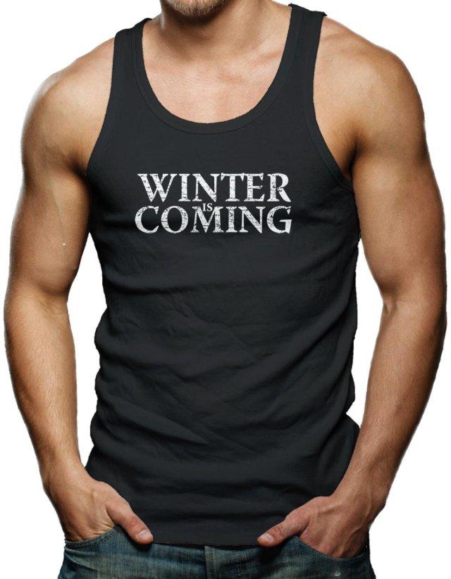 Winter Is Coming Men's Tank Top T-shirt Tee