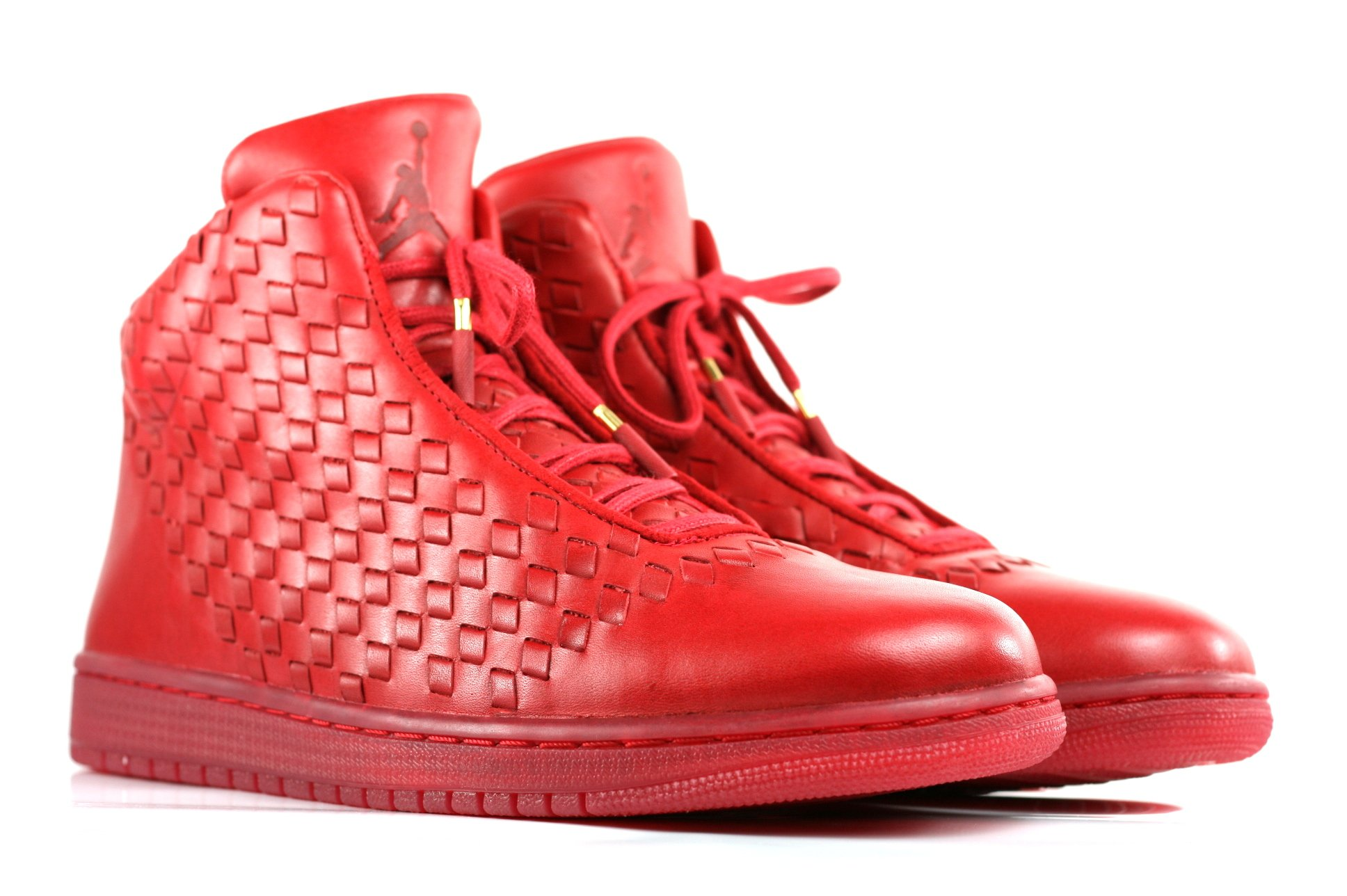 Nike Mens Jordan Shine Leather Basketball Shoes