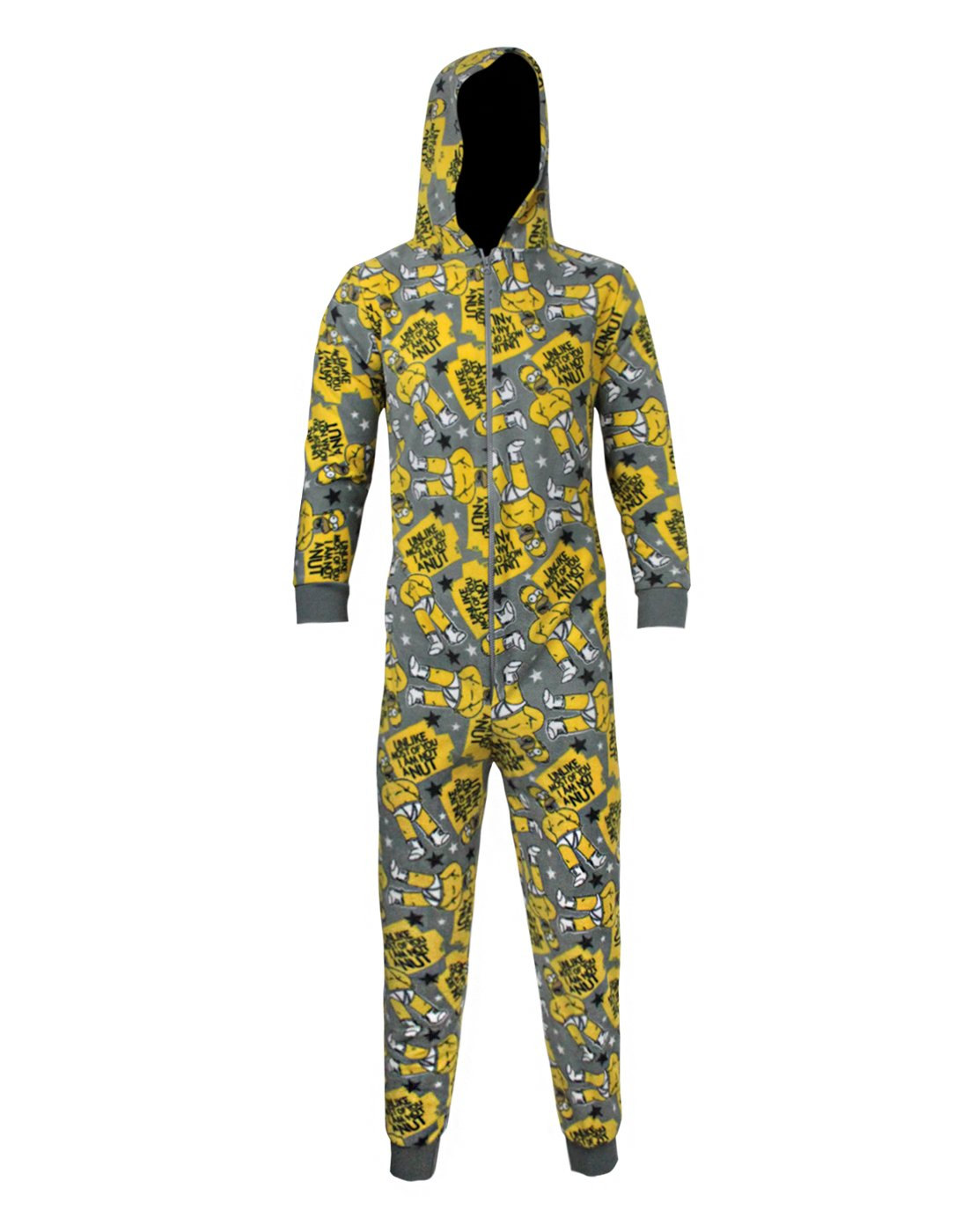 Official Simpsons Women's Hooded Onesie