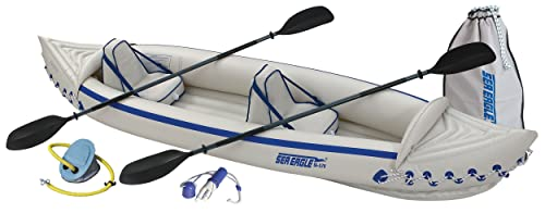 Sea Eagle SE370K_P Inflatable Kayak with Pro Package