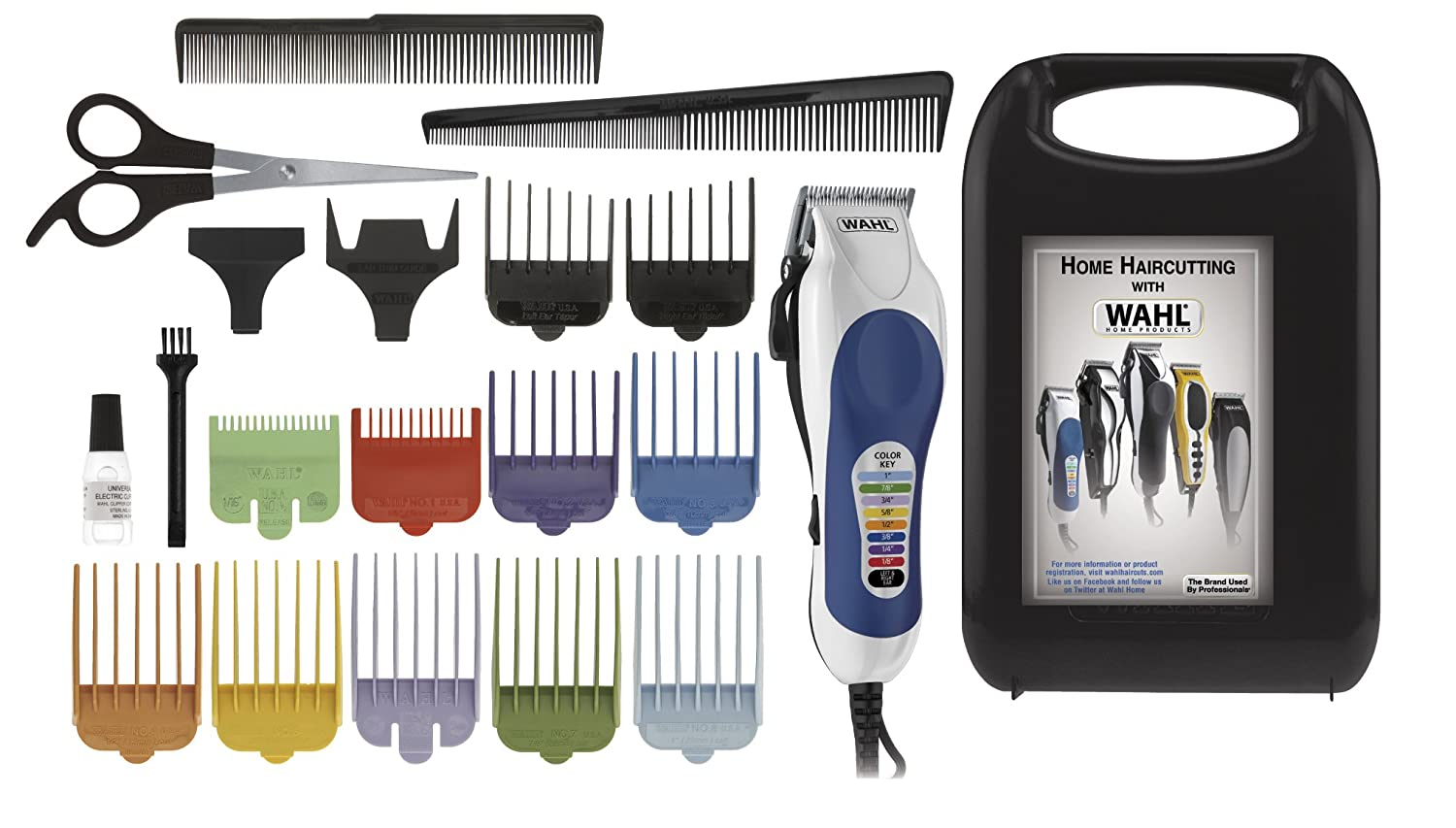 Wahl Color Pro 20 Piece Haircutting Kit Only 17 99
