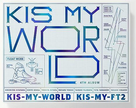 JKIS-MY-WORLD(初回生産限定盤A)(CD2枚+DVD)(LIVE CD盤)
