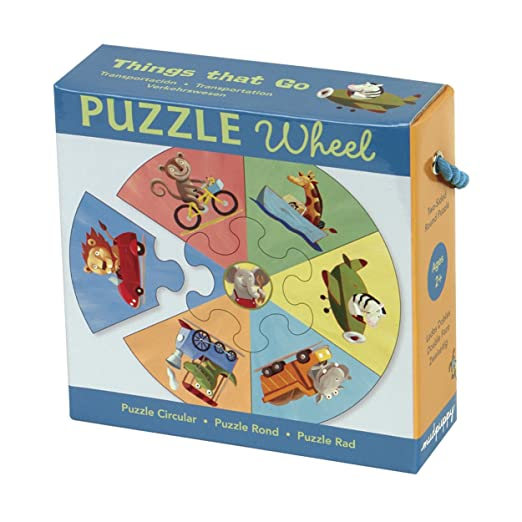 Things that Go Puzzle Wheel