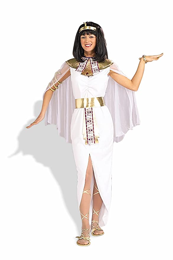 Forum Cleopatra Queen Of The Nile Costume, White, One Size