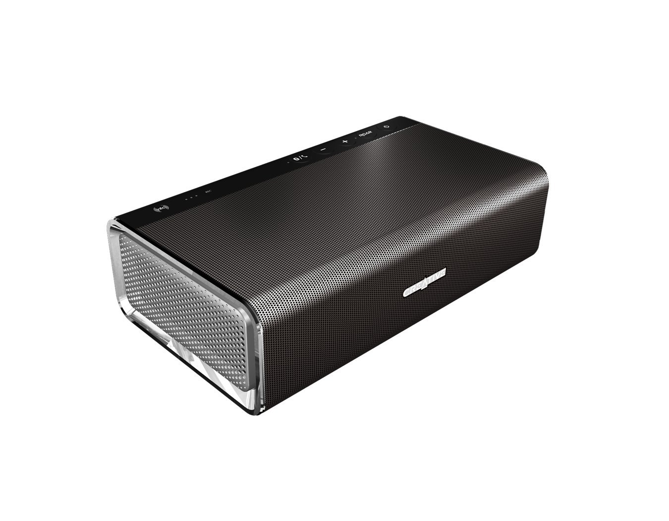 Amazon.com : Creative Sound Blaster Roar Our primary sound system & speaker phone in the bus.. this great little portable speaker with built in subwoofer.