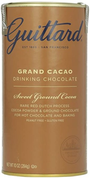 Guittard Chocolate: Grand Cacao Drinking Chocolate, 10 oz