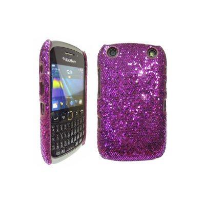 LOVE MY CASE / BlackBerry 9320 / 9220 / Curve / Stylish Pink Diamond Sequin Design / NEW