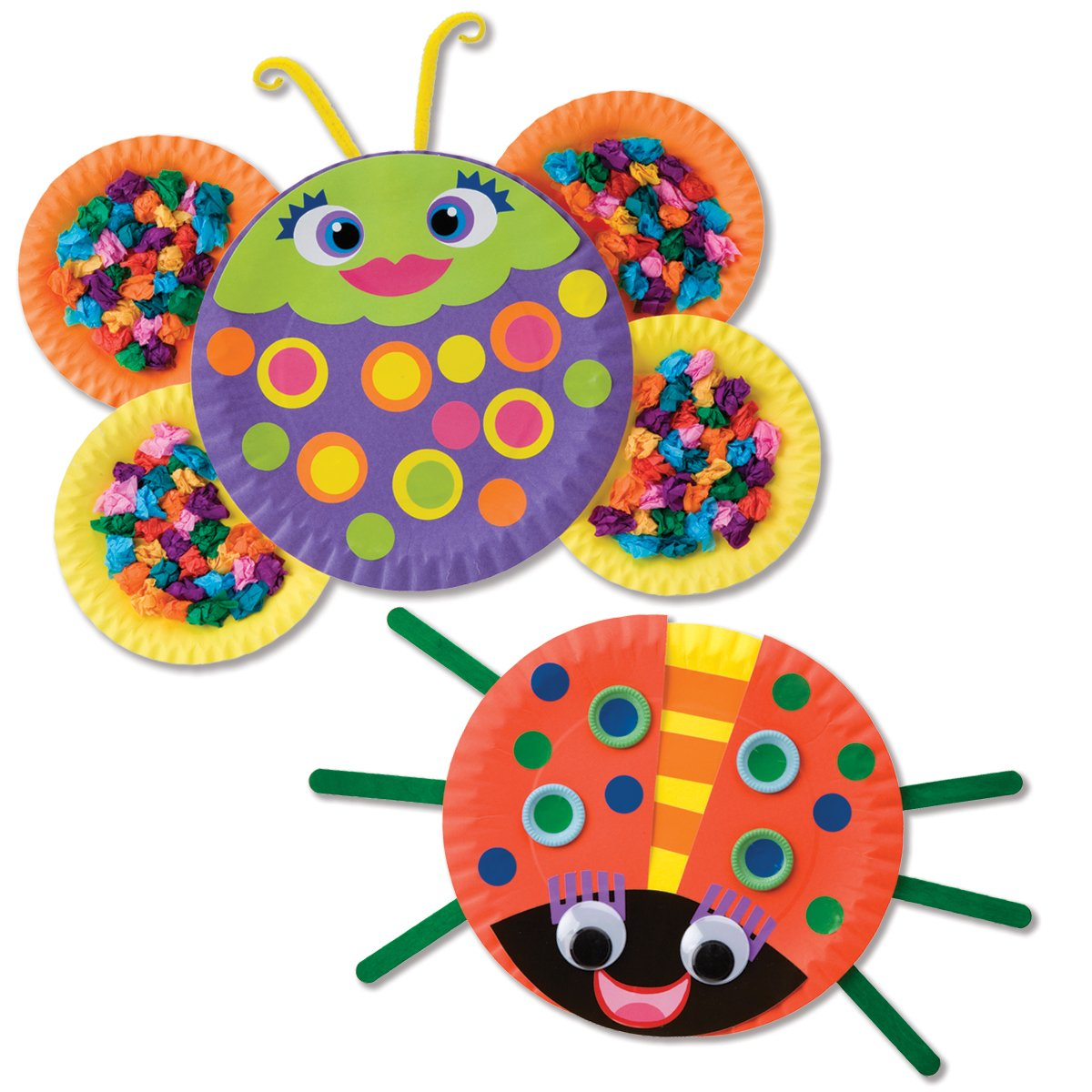 Awesome Kid S Craft Find Alex Toys Paper Plate Bugs