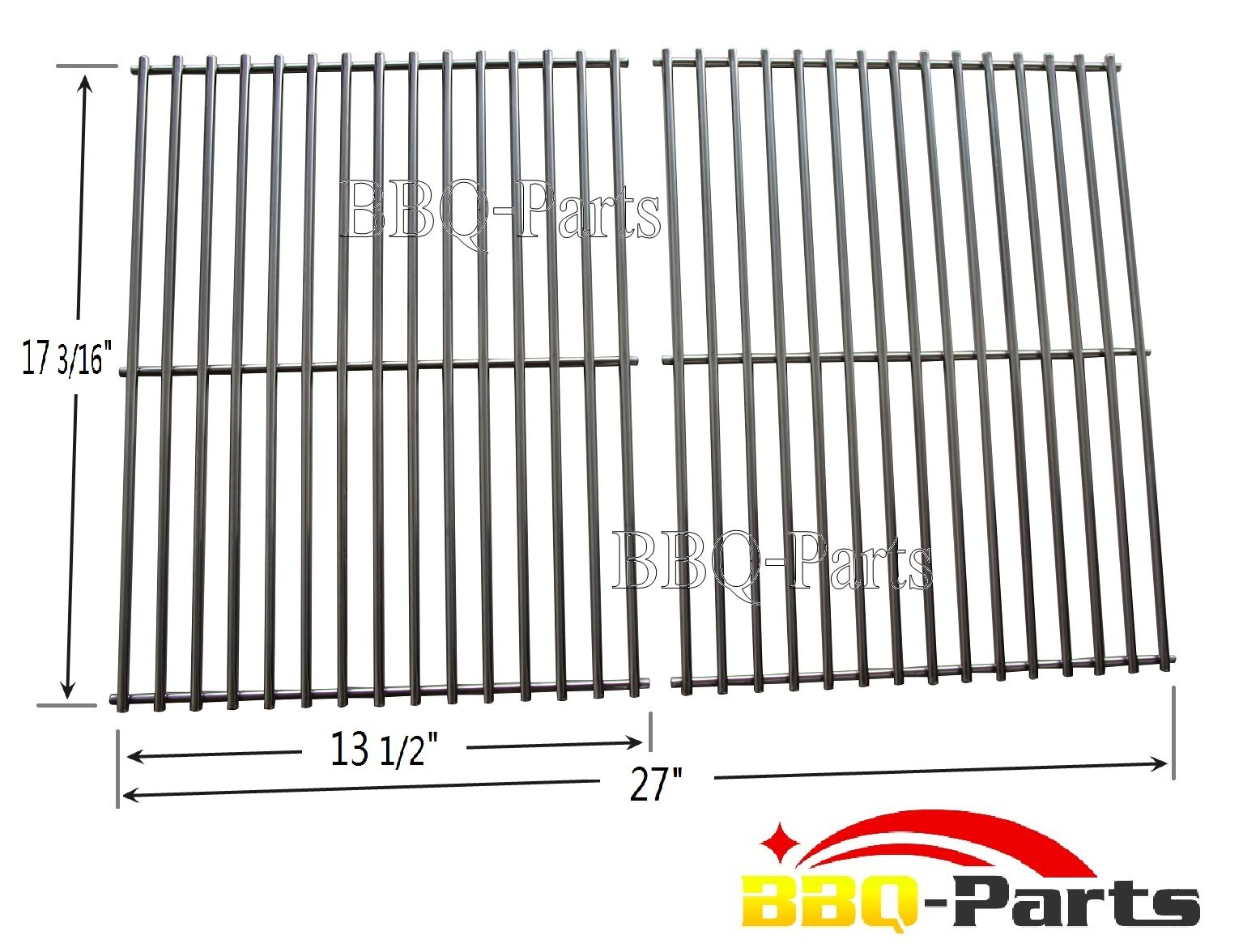 Bbq Parts Sci812 Stainless Steel Rod Cooking Grid Cooking