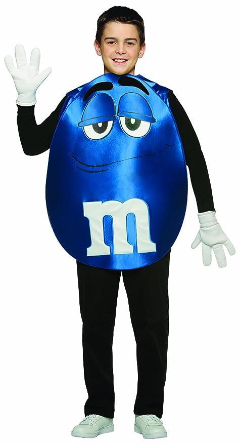 Rasta Imposta M&M's Poncho, Blue, Teen 13-16