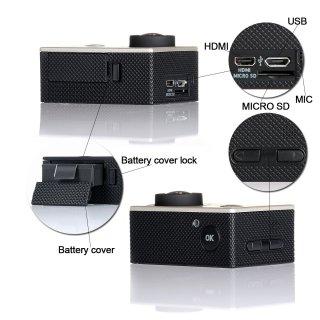 CCBETTER CS720 1080P Sport fotocamera impermeabile 6