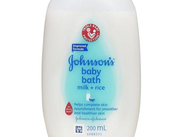 Johnson's Baby Milk and Rice Bath (200ml)